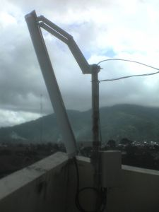 antena sektoral with mikrotik radio